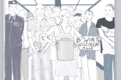Menschen im Hotelfahrstuhl2